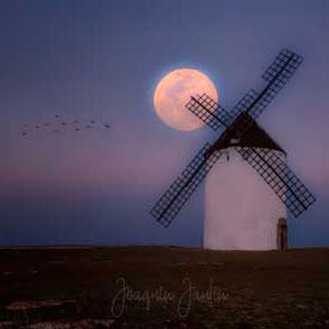 superluna de joaquín cantin fotografia desde el molino de malanquilla